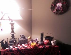 Samhain altar 2015